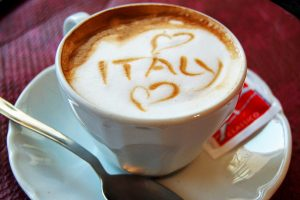 we love italy Cappuccino Loves Italy