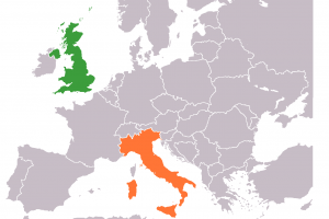 UK citizens who are living in Italy