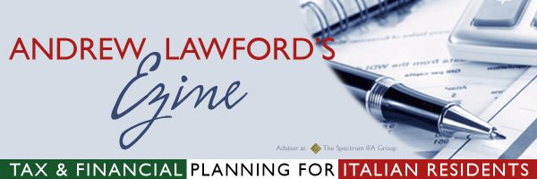 Andrew Lawford Financial Adviser Italy