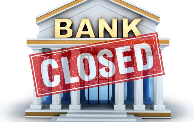 UK Banks closed